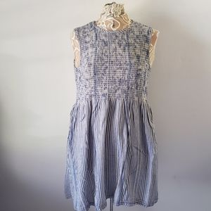 French Connection Peasant Dress